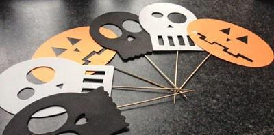 Halloween voorbeeld maskers
